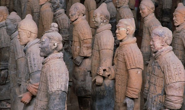 Two farmers discovered the famous terracotta army of China's First Emperor