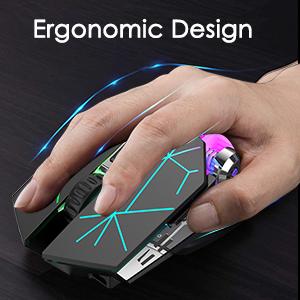 Ergonomic Gaming Mouse