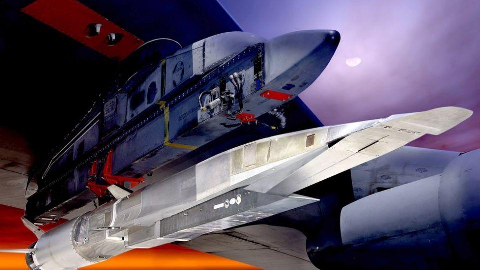 The X-51A flew at Mach 4.5