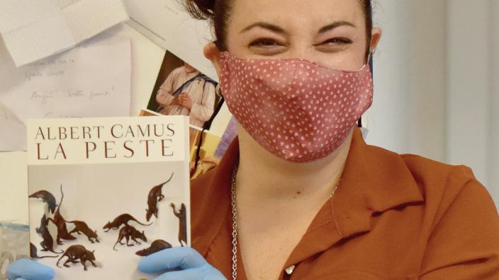 The Plague has been flying off bookshop shelves worldwide