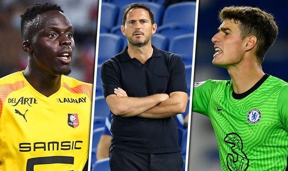 Chelsea boss Frank Lampard drops Edouard Mendy transfer hint as he offers Kepa support