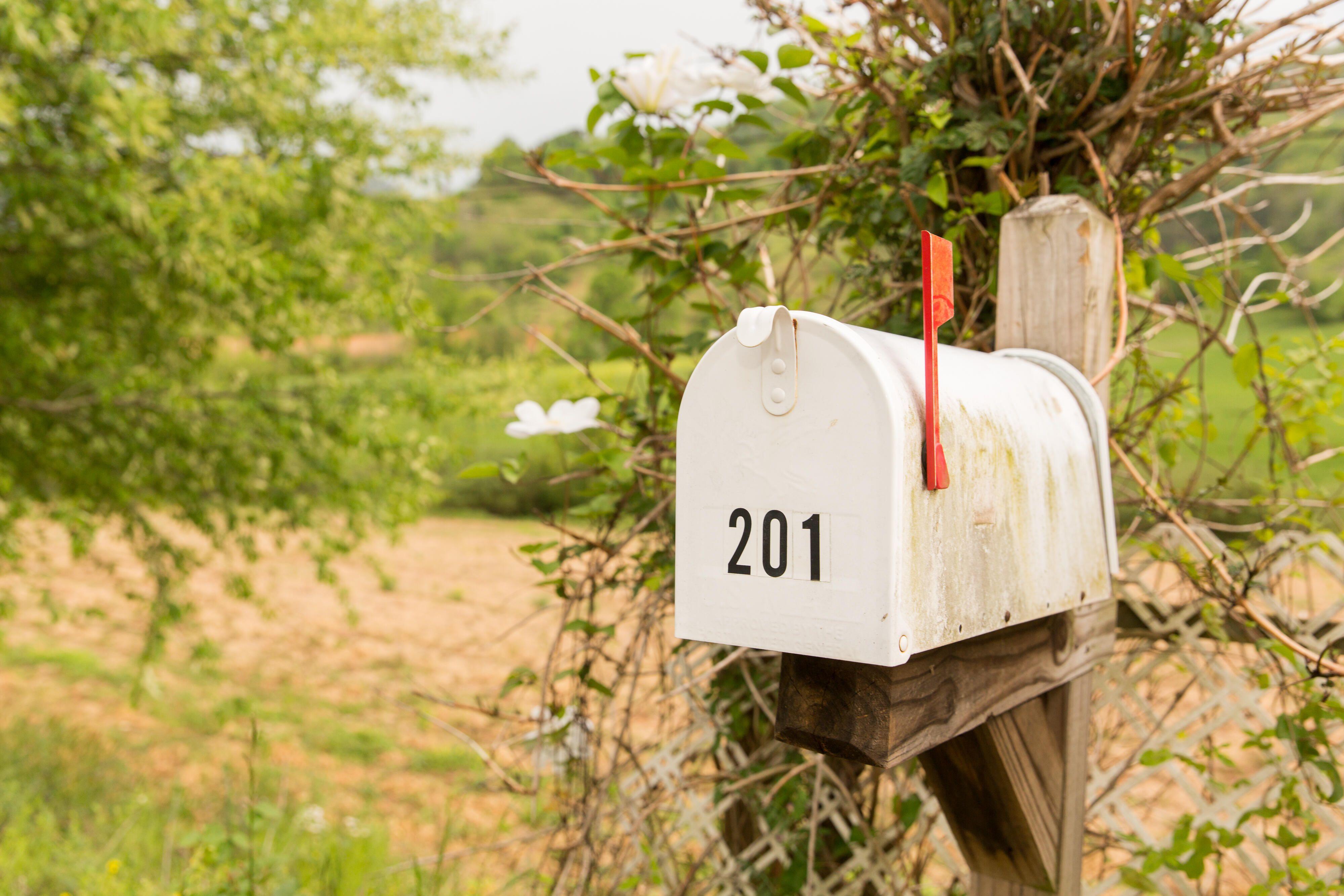 Postal mailbox