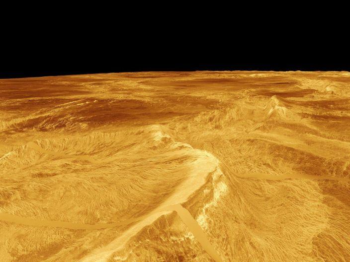 "The surface of Venus on September 16, 2010. <p class=""copyright""><a href=""https://www.flickr.com/photos/banco_imagenes_geologicas/4996219765/"" rel=""nofollow noopener"" target=""_blank"" data-ylk=""slk:NASA/Banco de Imágenes Geológicas"" class=""link rapid-noclick-resp"">NASA/Banco de Imágenes Geológicas</a></p>"