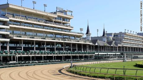Kentucky Derby will run without fans in the stands