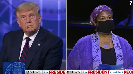 Why I confronted Trump at the town hall in Philadelphia