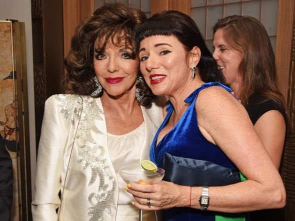 Tara with her glamorous mother Joan