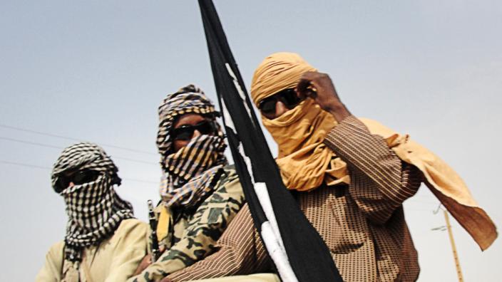 Islamist fighters in Gao, Mali - 2012