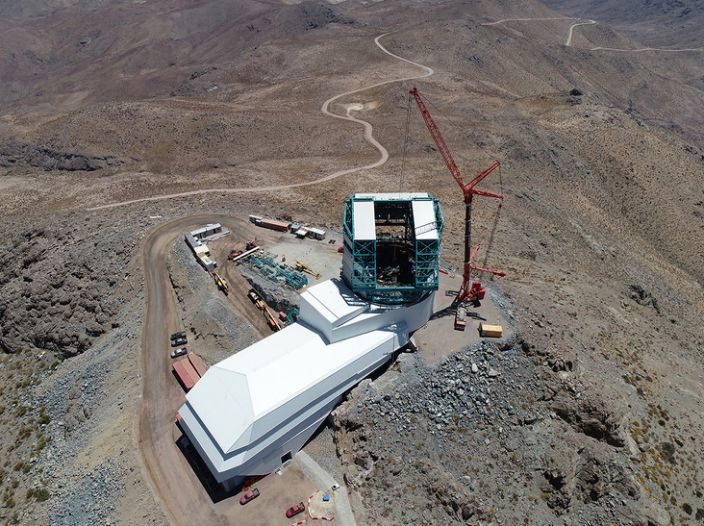 The VRO is being constructed atop Cerro Pachón, a 2,682m-high mountain in northern Chile