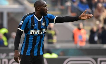 Inter's Romelu Lukaku was the target of racist abuse in Cagliari