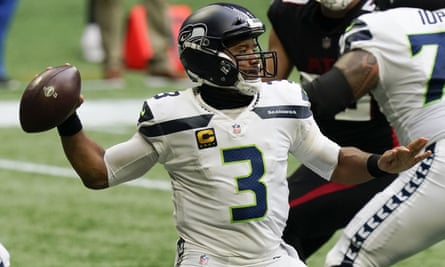 Russell Wilson was at his usual best against the Falcons