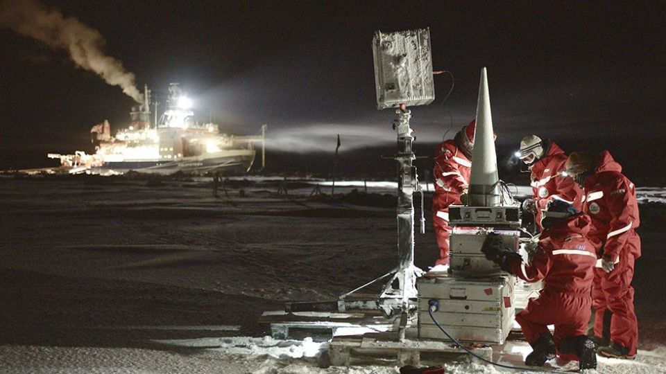 Investigations on the ice should improve the measurements made from space
