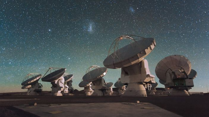 The phosphine signal was confirmed by the ALMA telescope facility in Chile