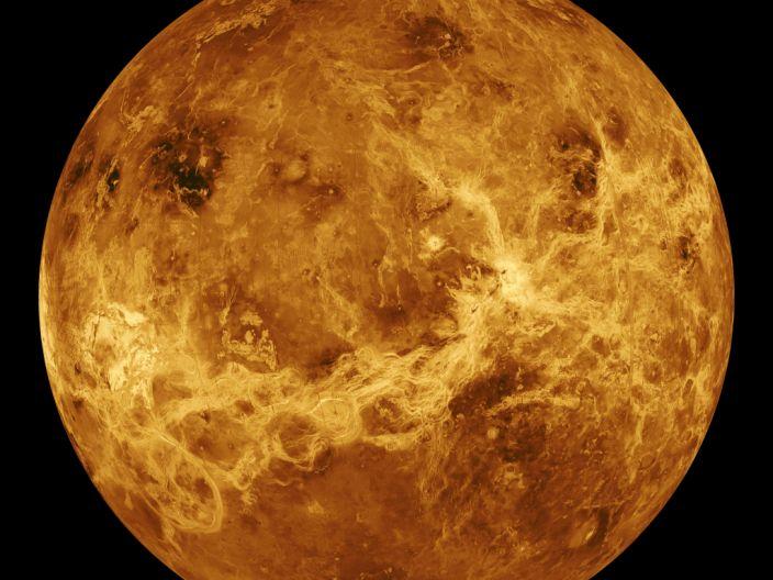 "Venus. <p class=""copyright""><a href=""https://www.flickr.com/photos/gsfc/7302574832/in/photolist-ikWvMo-9EqKjo-8bPGsc-S21e5-cJbM1-cbYeYU-dXfy42-4q46Lx-cbqnQ1-dXm98N-c8iBgs-cc9eAb-cc7w2s-6cw2At-cbVu4q-cbPDVq-c8iBao-c8iB5C-cbh5L5-bUA9QX-k8bvEn-oyirRd-bUsDSX-c8iAif-bkDozd-cbTcEG-cbqnWd-bUAZv8-5hZrjs-c8iA9h-dXfuxH-cbXR9f-bUzuxV-c8iAMo-c8iBtf-cbYZSJ-cbSNJG-c8iAVC-9obh7g-bUx8Q2-bUx8Uv-bUzurZ-cbXSeU-cbVu6U-84iNci-dKjVwD-cuMMw3-8rvjoP-4WqR7-cQZqYj"" rel=""nofollow noopener"" target=""_blank"" data-ylk=""slk:NASA Goddard Spaceflight Center"" class=""link rapid-noclick-resp"">NASA Goddard Spaceflight Center</a></p>"