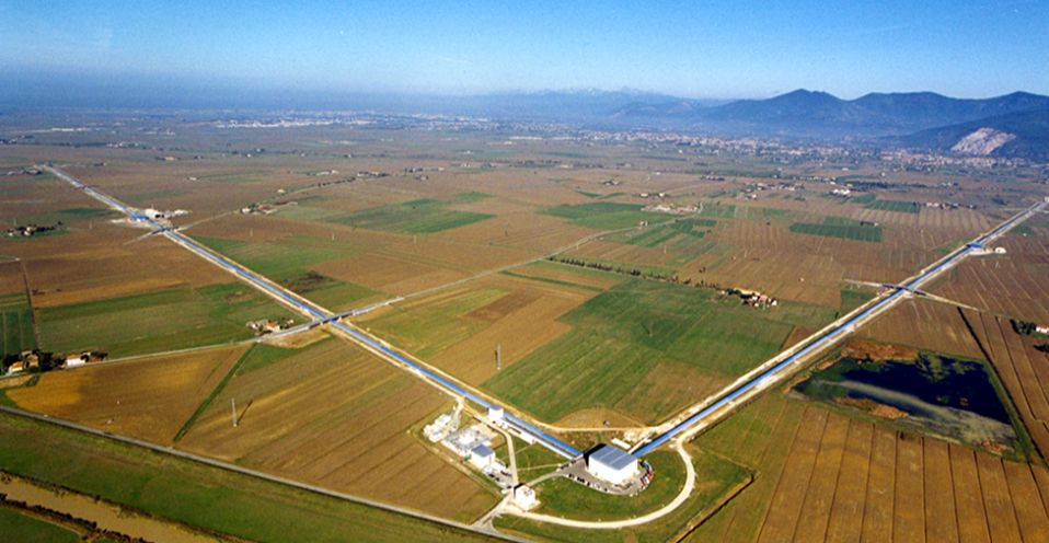 The European VIRGO laser lab is based in Italy's province of Pisa
