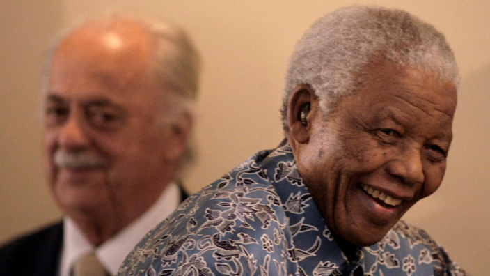 George Bizos and Nelson Mandela, who met as law students, remained close friends
