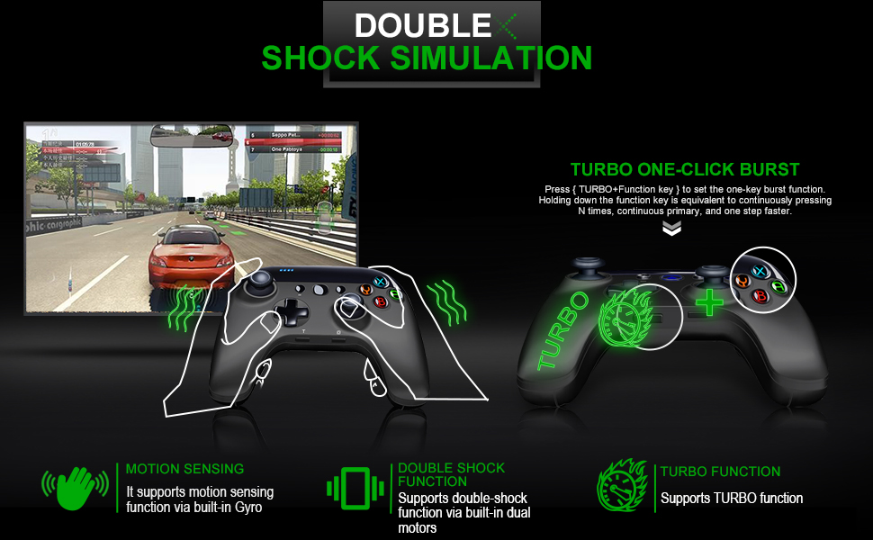 Double Shock Simulation