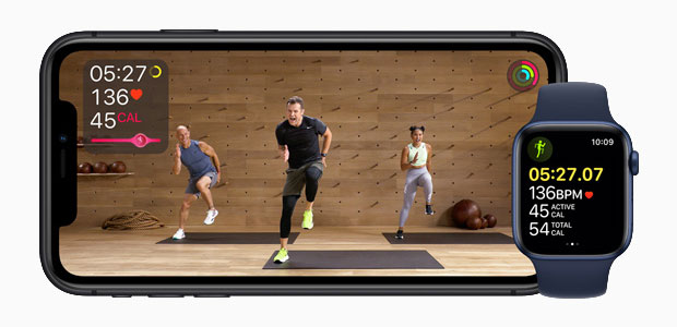 Apple Fitness+ trainers