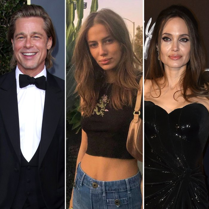 Brad Pitt Girlfriend Nicole Poturalski Responds to Fan Asking Why She Hates Angelina Jolie