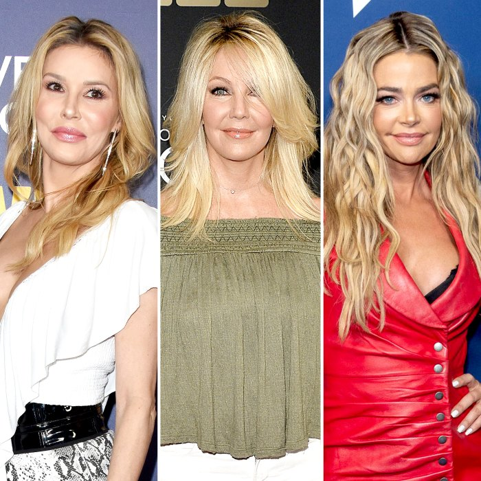 Brandi Glanville Claims Heather Locklear Reached Out to Send Support Over Denise Richards RHOBH Drama