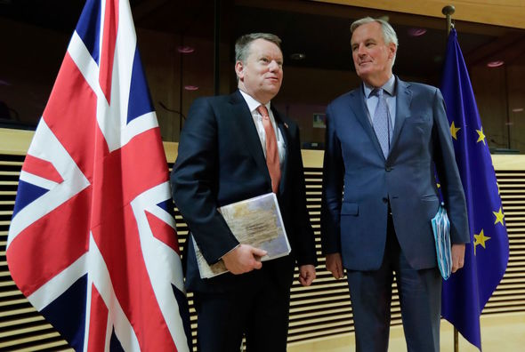 Brexit negotiations: The EU and UK chief Brexit negotiators have yet to agree on all areas of a deal