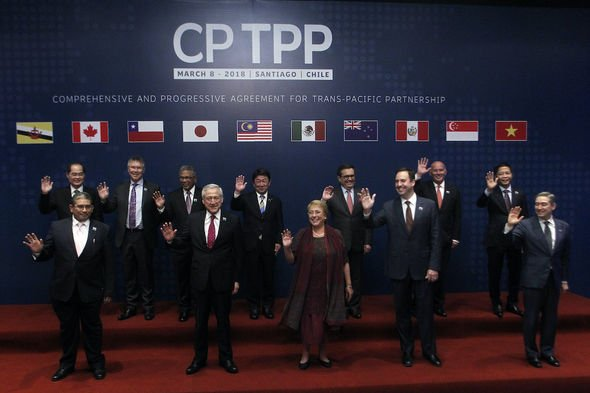 CPTPP: The trading bloc comprises of eleven countries around the world