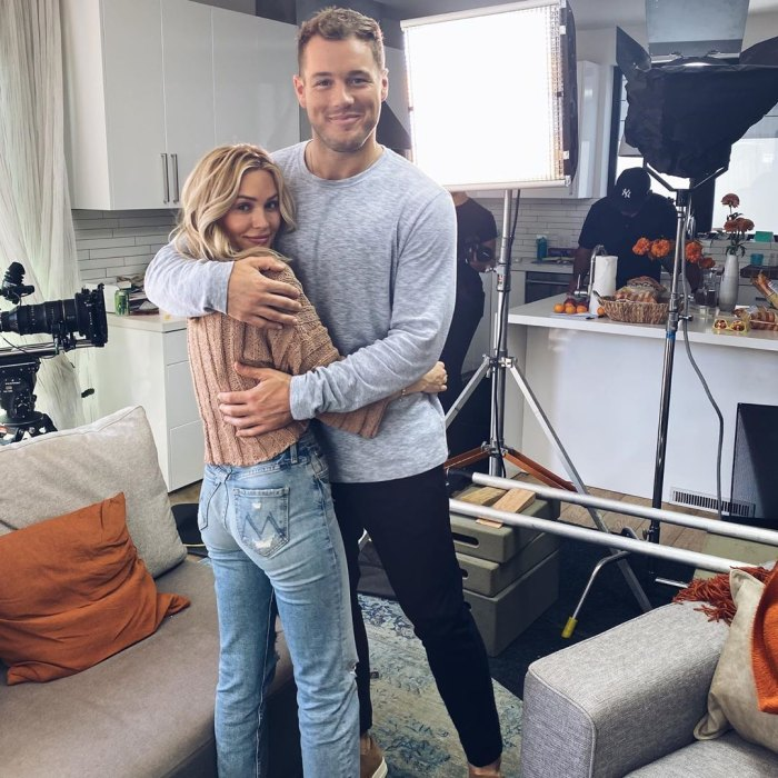 Cassie Randolph Colton Underwood Filming Reality Show