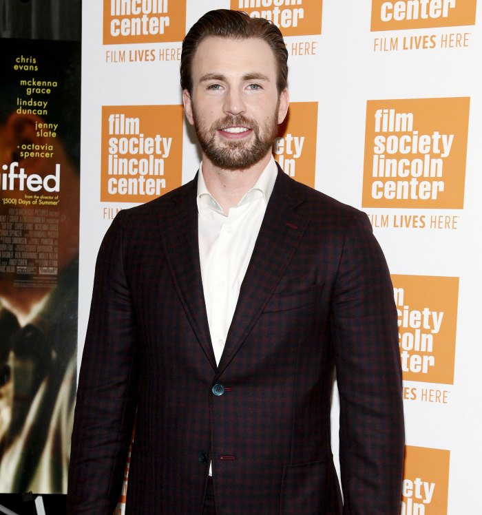 Chris Evans attends a special screening of Gifted Chris Evans Breaks His Silence After Accidentally Leaking Nude Photo
