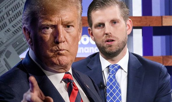 Eric Trump: The 36-year-old couldn't pursue his own dreams according to a school friend