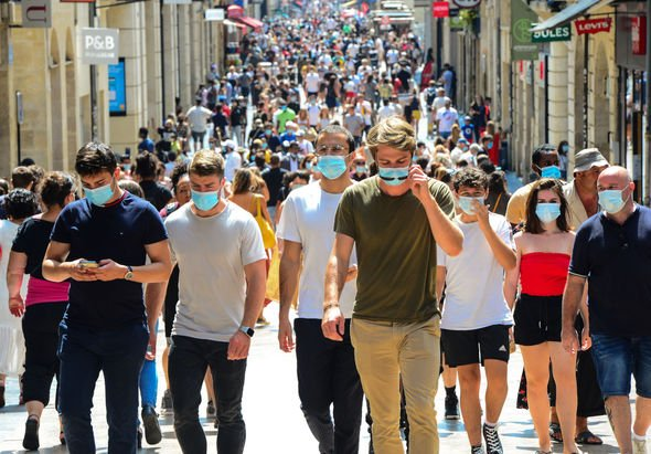 Face masks are now mandatory across France