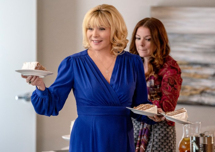 Kim Cattrall in Filthy Rich