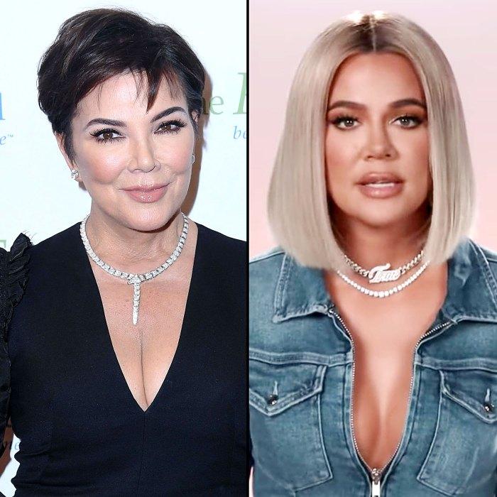 Kris Jenner Khloe Kardashian Keeps Crying Over KUWTK End