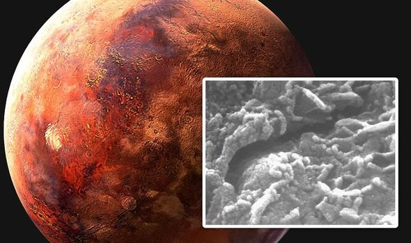 Life on Mars hopes were given a boost