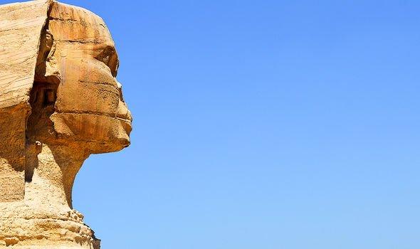Many mysteries surround the pyramid
