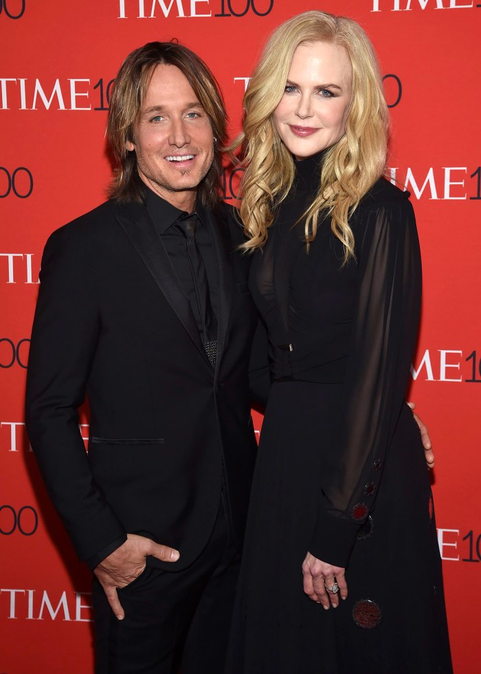 Nicole Kidman Adorably Supported Husband Keith Urban Hosting the 2020 ACM Awards From Home