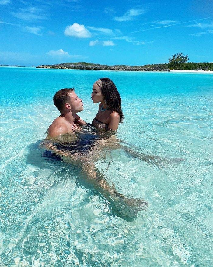 Olivia Culpo Posts Steamy Swimsuit Photos With Boyfriend Christian McCaffrey
