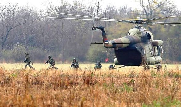 Russia helicopter