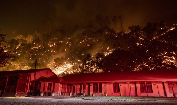 US fires: Blazes in California and Oregon have decimated swathes of forest and farmland