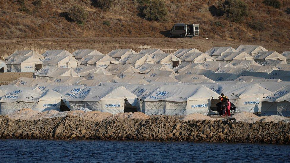 Kara Tepe camp