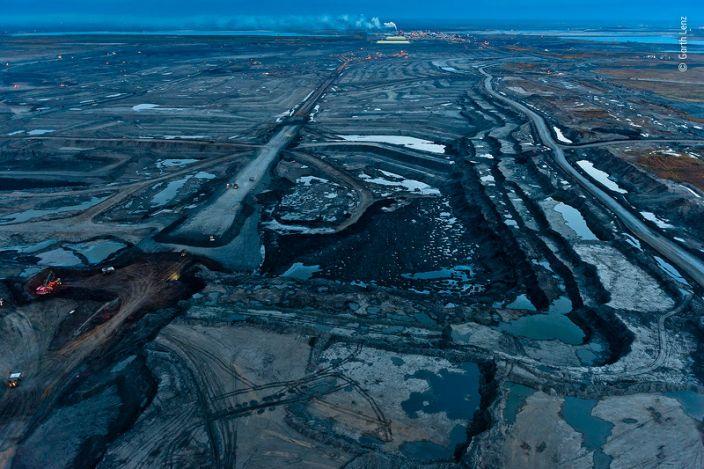 "Mildred Lake Tar Mine in the Alberta Tar Sands, Canada. <p class=""copyright"">Garth Lenz/Wildlife Photographer of the Year</p>"
