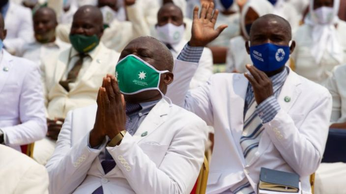 Most African states urged people to wear masks from the beginning of the outbreak
