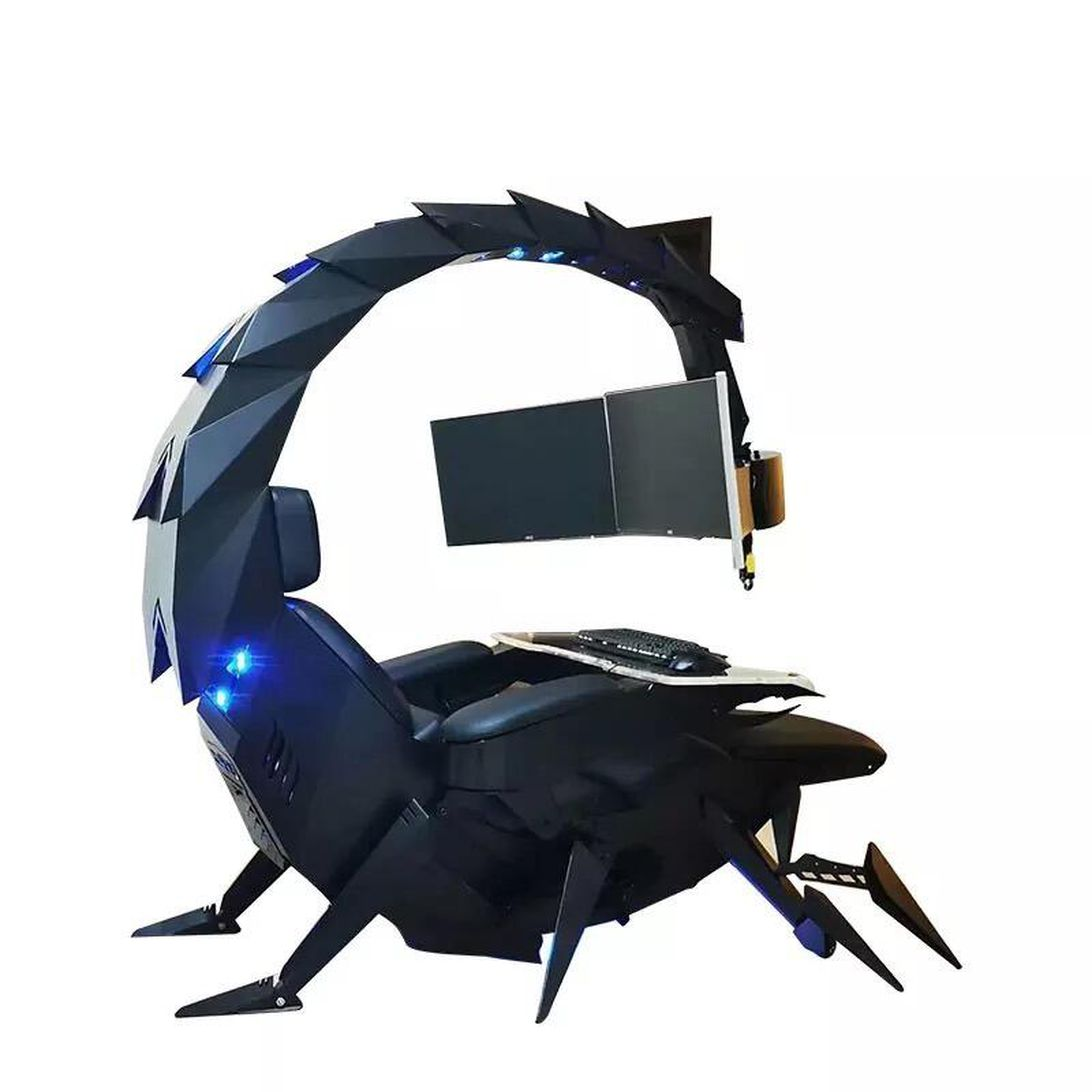 cluvens-iw-sk-scorpion-king-computer-gaming-office-reclining-chair-for-3-monitors