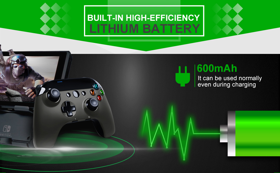 Built-in Lithium Battery