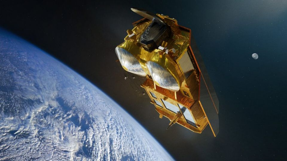 Artwork: The plan is to fly the Cristal satellite system towards the end of this decade