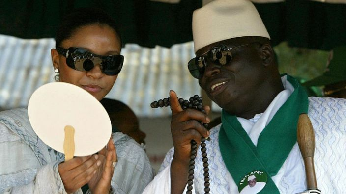 Yahya and Zineb Jammeh lived in the presidential mansion in The Gambia until they were exiled