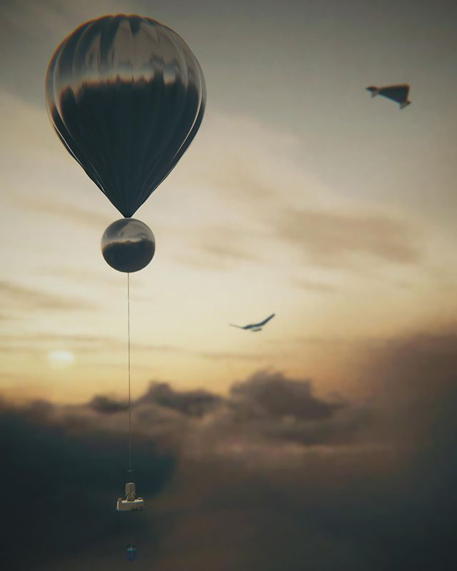 Artwork: One of the best ways to resolve the uncertainty would be with instrumented balloons