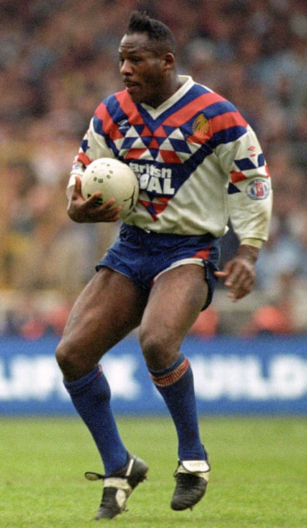 Ellery Hanley, a former Great Britain captain and coach, is a legend of the game.
