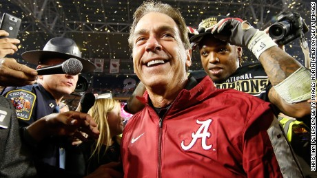 Alabama football coach Nick Saban releases PSA on wearing masks