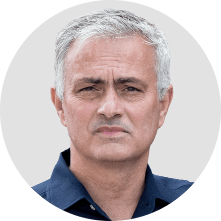 Jose Mourinho. Circular panelist byline.DO NOT USE FOR ANY OTHER PURPOSE!