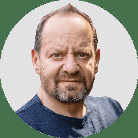 Philippe Sands. Circular panelist byline.