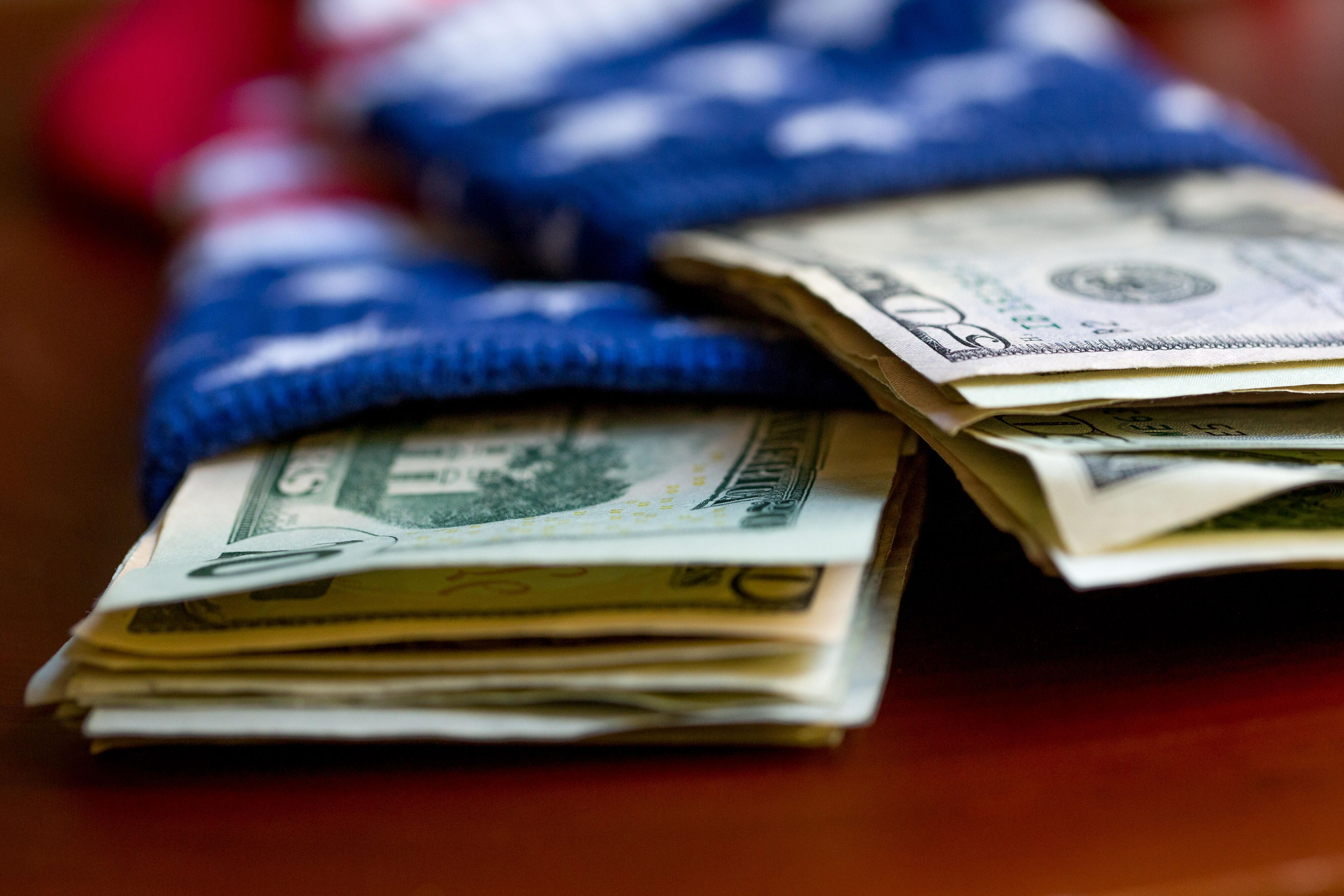 money-dollars-bills-sock-american-flag-9036